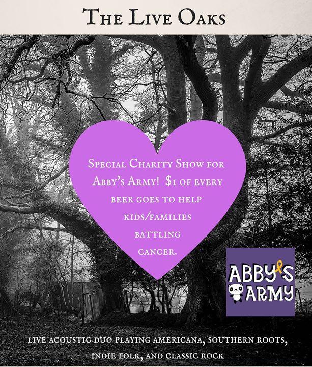 The Live Oaks – Abby's Army NC fundraiser
