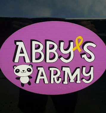 Abby's Army Car Magnet